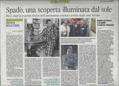 Spadolini sul Corriere Adriatico del 12 gennaio 2015